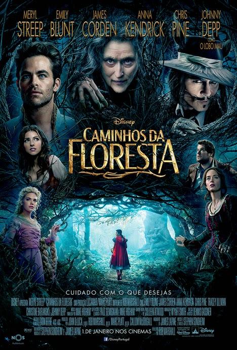 """Cinema - filme """"Caminhos da floresta"""""""