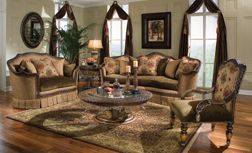 Living Room Ideas with Traditional Interior Design