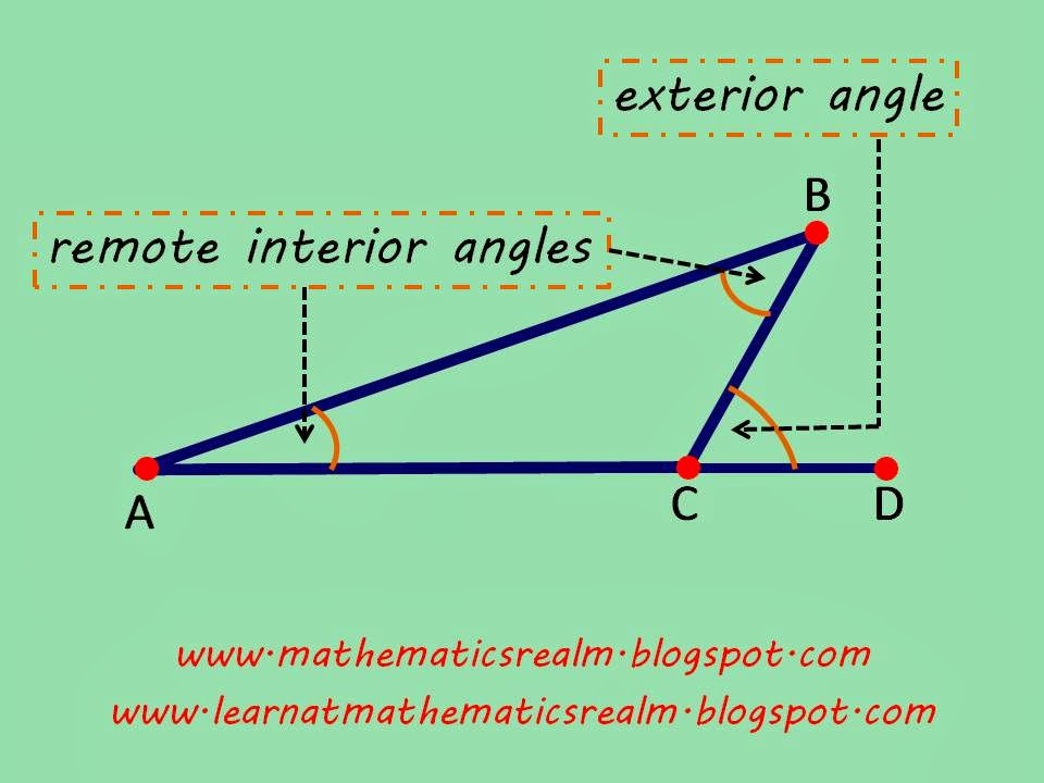 mathematics,angles,geometry,interior angles,obtuse triangles,IGCSE