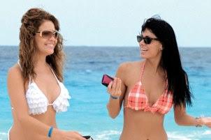 Lilí Brillanti y Vanessa