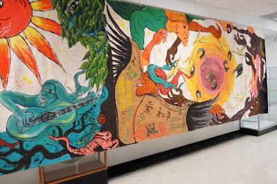 Artventures el d a de los muertos for Dia de los muertos mural