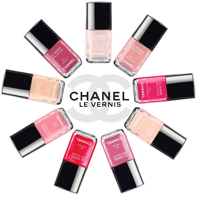 chanel nail polishes