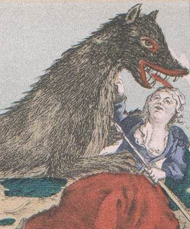 woman attacked by the Beast