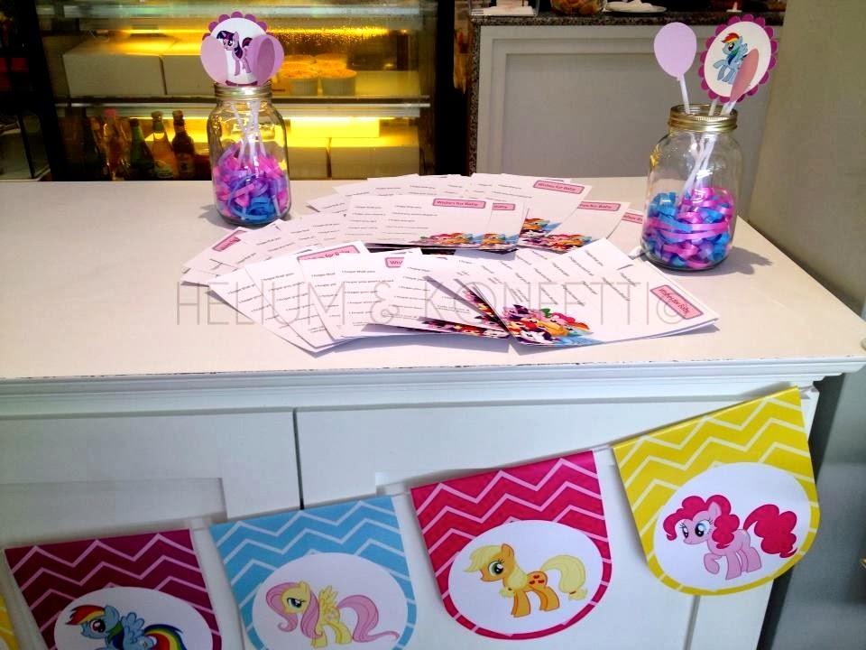 my little pony baby shower