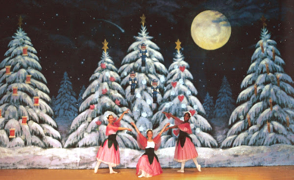 Land of Dreams backdrop for Windham Nutcracker ballet