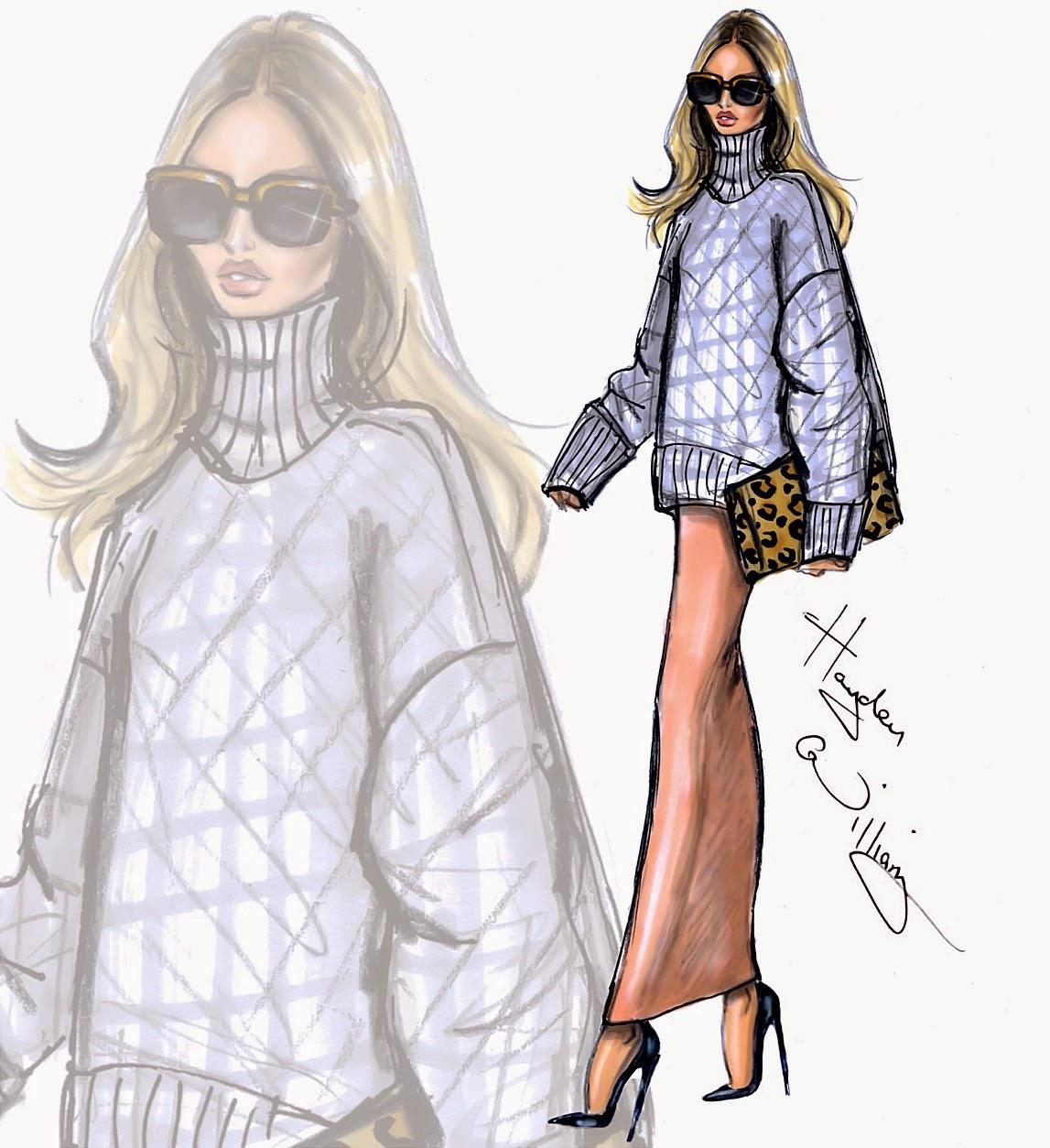 Hayden Williams Fashion Illustrations: October 2014