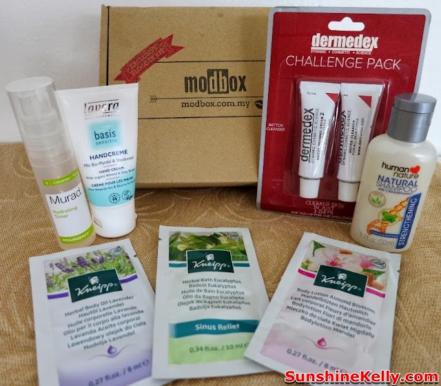 ModBox, modbox october, Natural & Herbal products, Beauty Box Review