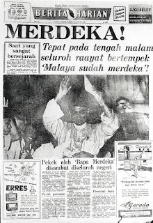 Kenapa Tunku pilih 31hb Ogos 1957 tarikh merdeka?