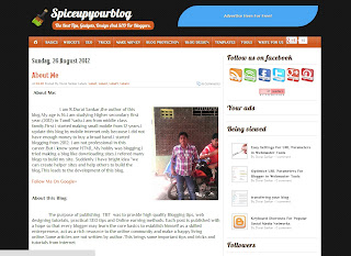 Spice Up Your Blog Blogger Template