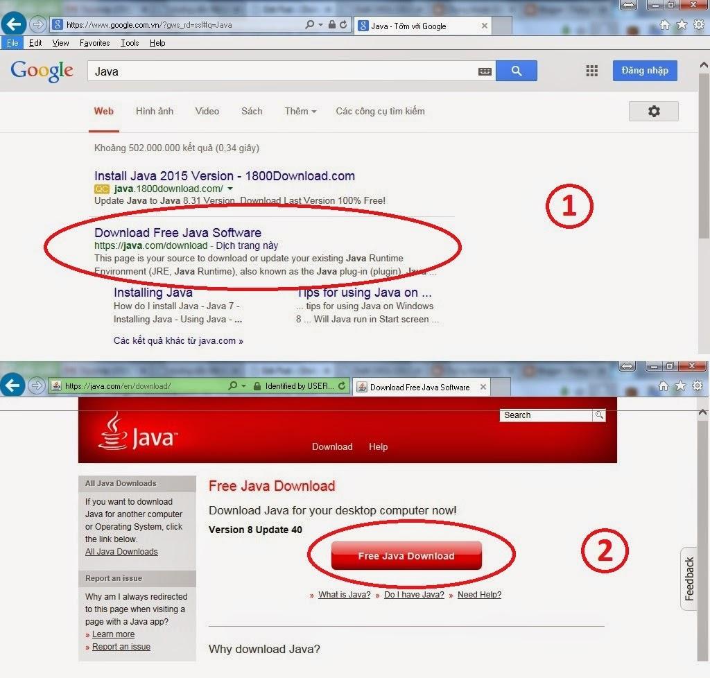 Cài đặt Java