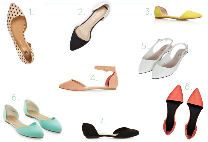 Love From Lisa Trend of the Week Pointed Flats
