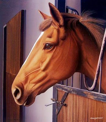 pintura-al-oleo-de-caballo