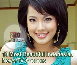 Top 10 Most Beautiful Indonesian News/TV Anchors