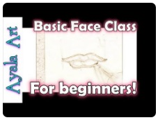Basic Face Drawing Class