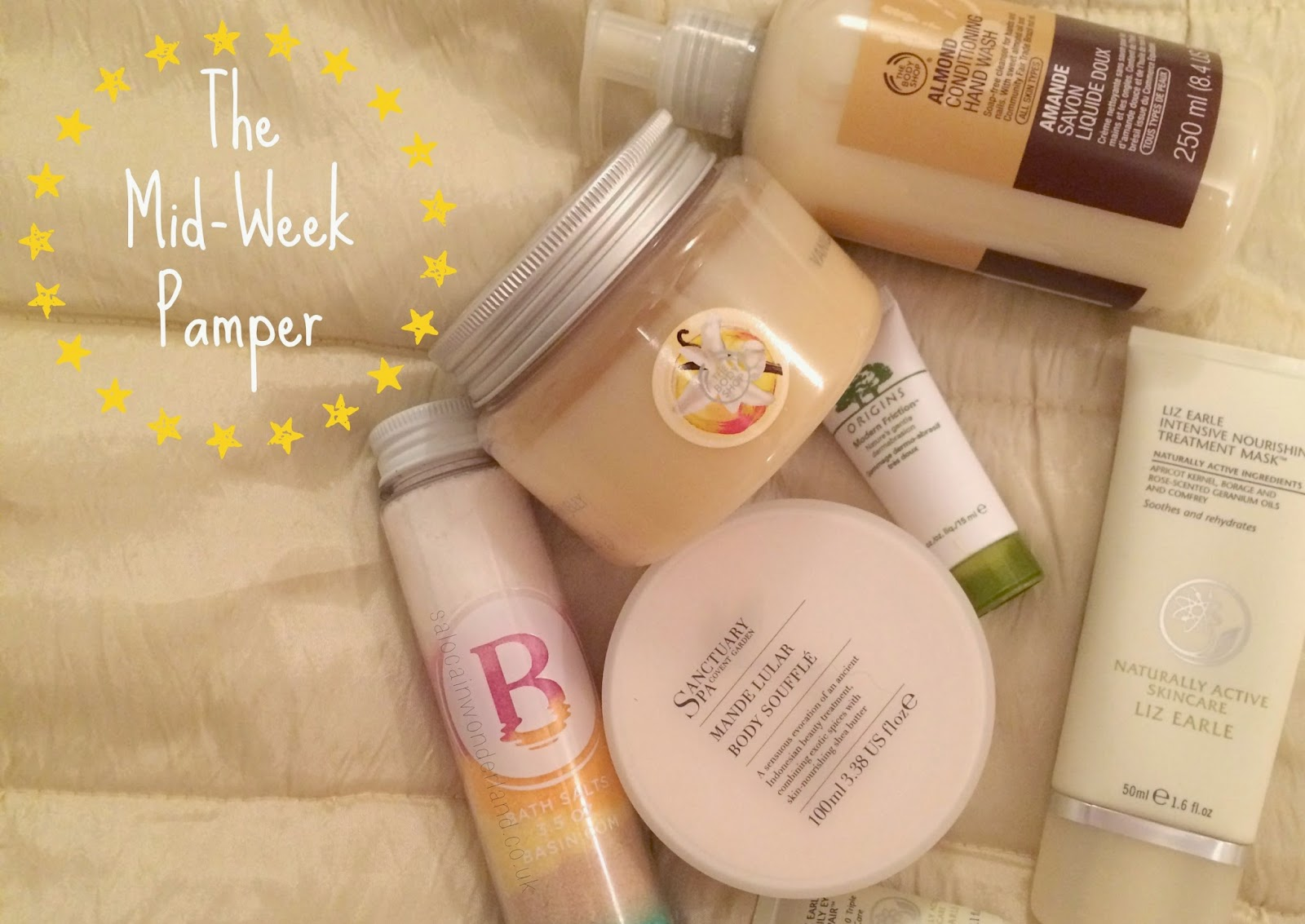 mid week pamper