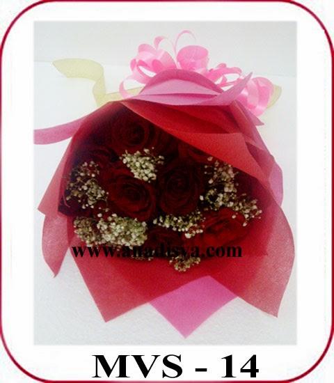 handbuket bunga valentine
