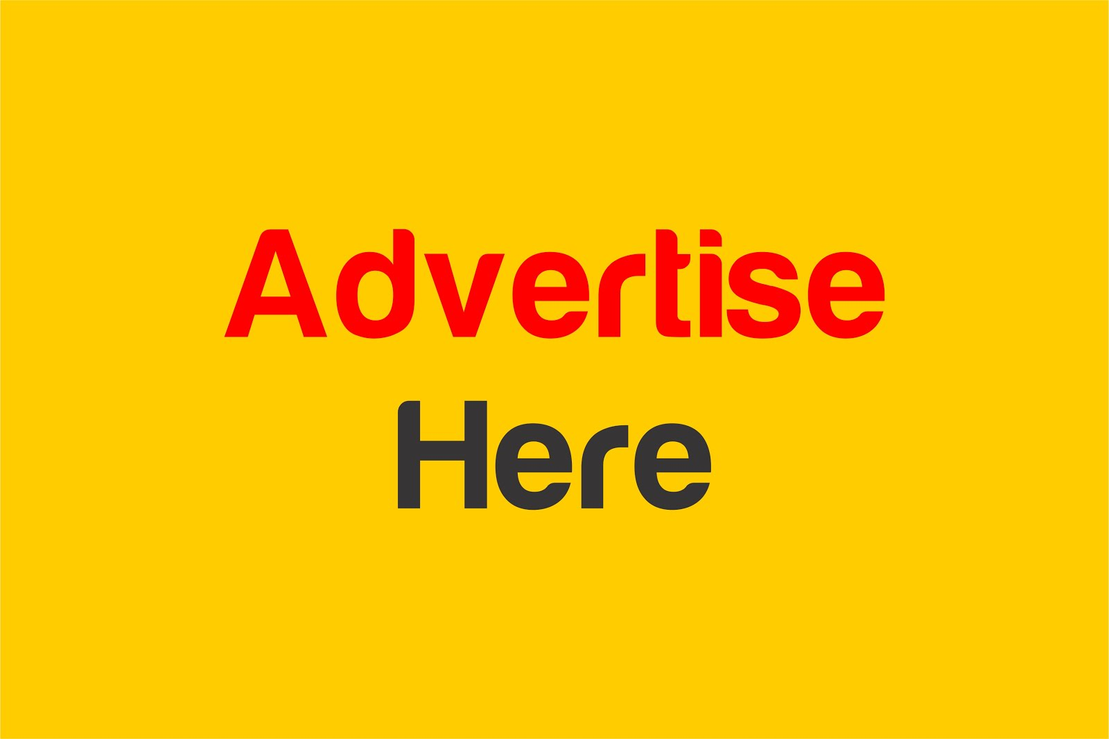 FOR YOUR ADVERTS CONTACT: +2348099958811