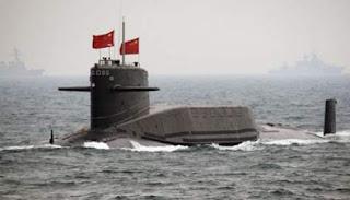 kapal selam negara cina