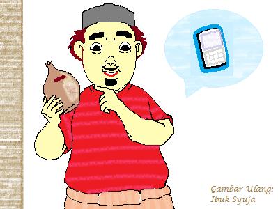 cerita anak: handphone