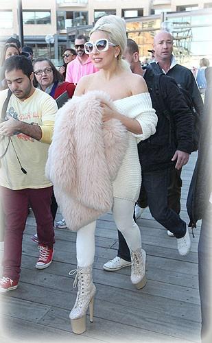 Lady Gaga es fans de Britney Spears