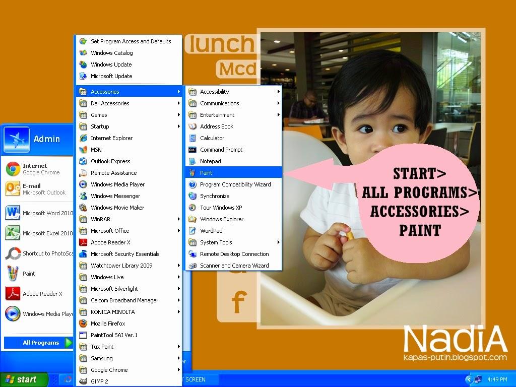 Tutorial PC Print Screen gune Paint