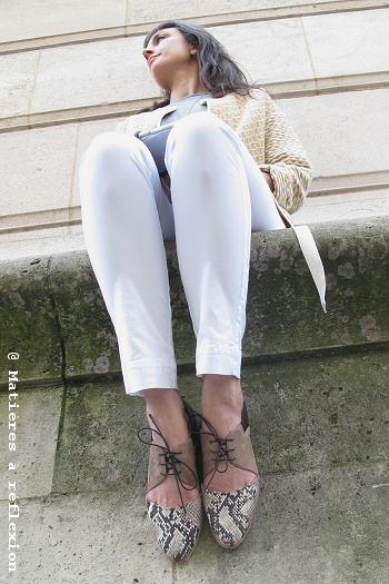 Sessùn jeans blanc Meridian Brothers pantalon Sessun Look