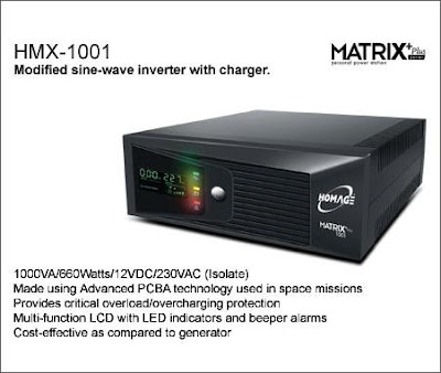 HMX-1001 Matrix Homage UPS Inverter