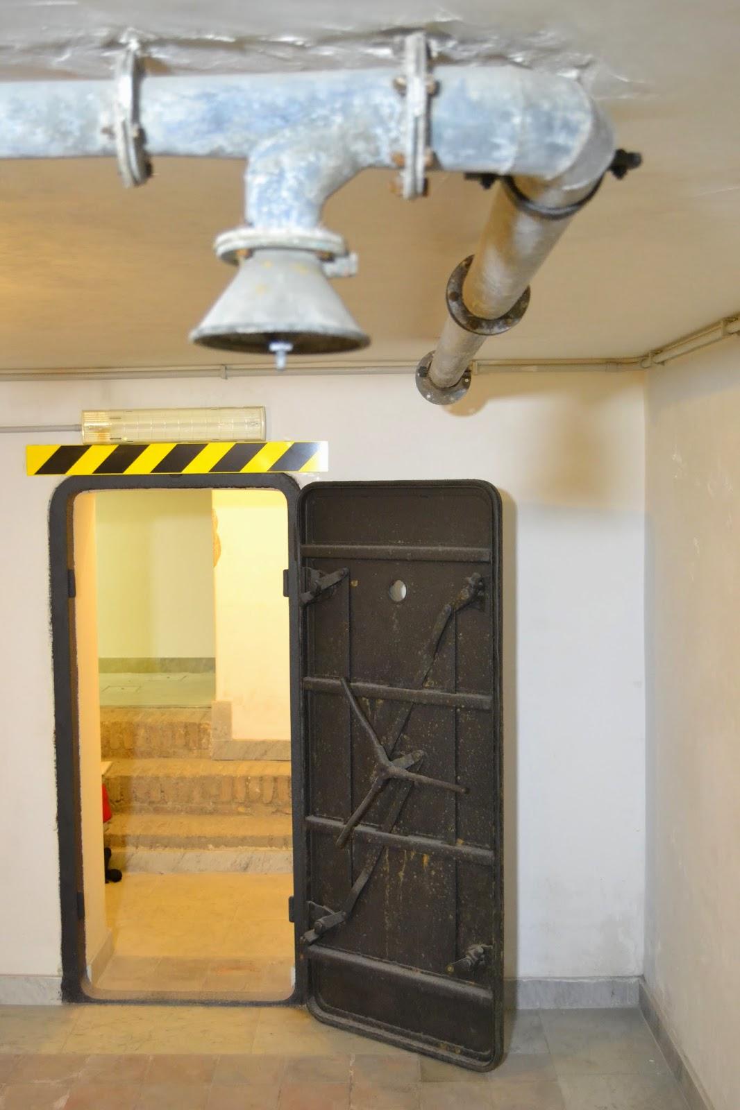 Rifugio piano seminterrato del Casino Nobile destinato alla protezione di Benito Mussolini - Villa Torlonia Roma