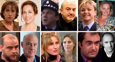 Carmen Balagué, Jesús Bonilla, Ángeles Martín, Aitor Mazo, Eva Herrero, Joaquín Climent