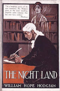 The Night Land, 1921, copertina