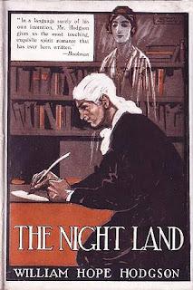 The Night Land, 1921, copertina
