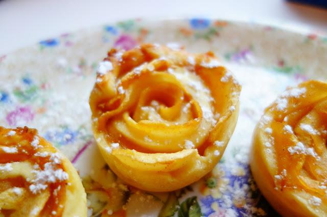 recette tartelette pommes rose