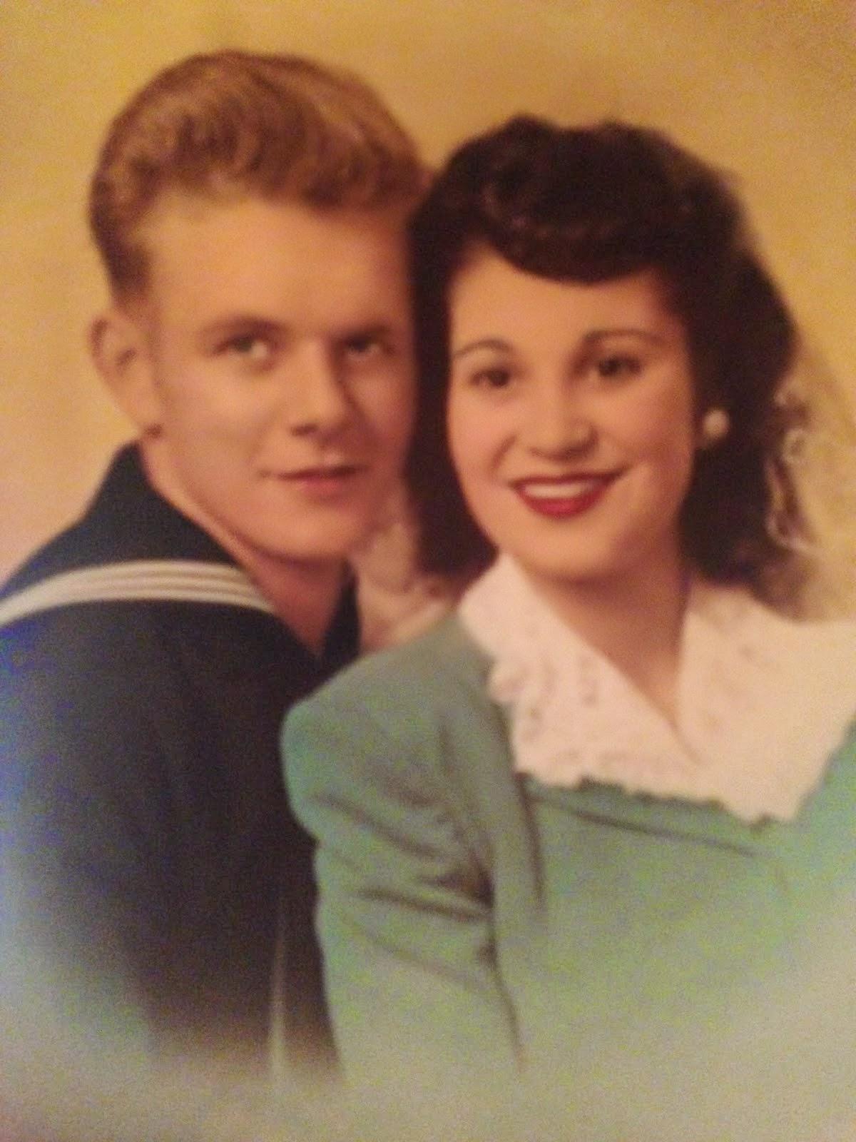Grandpa and Grandma Roger and Nita Brown
