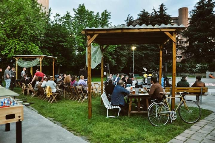 MAQUIS eventi estate 2013 a Milano giardino cooperativa Labriola