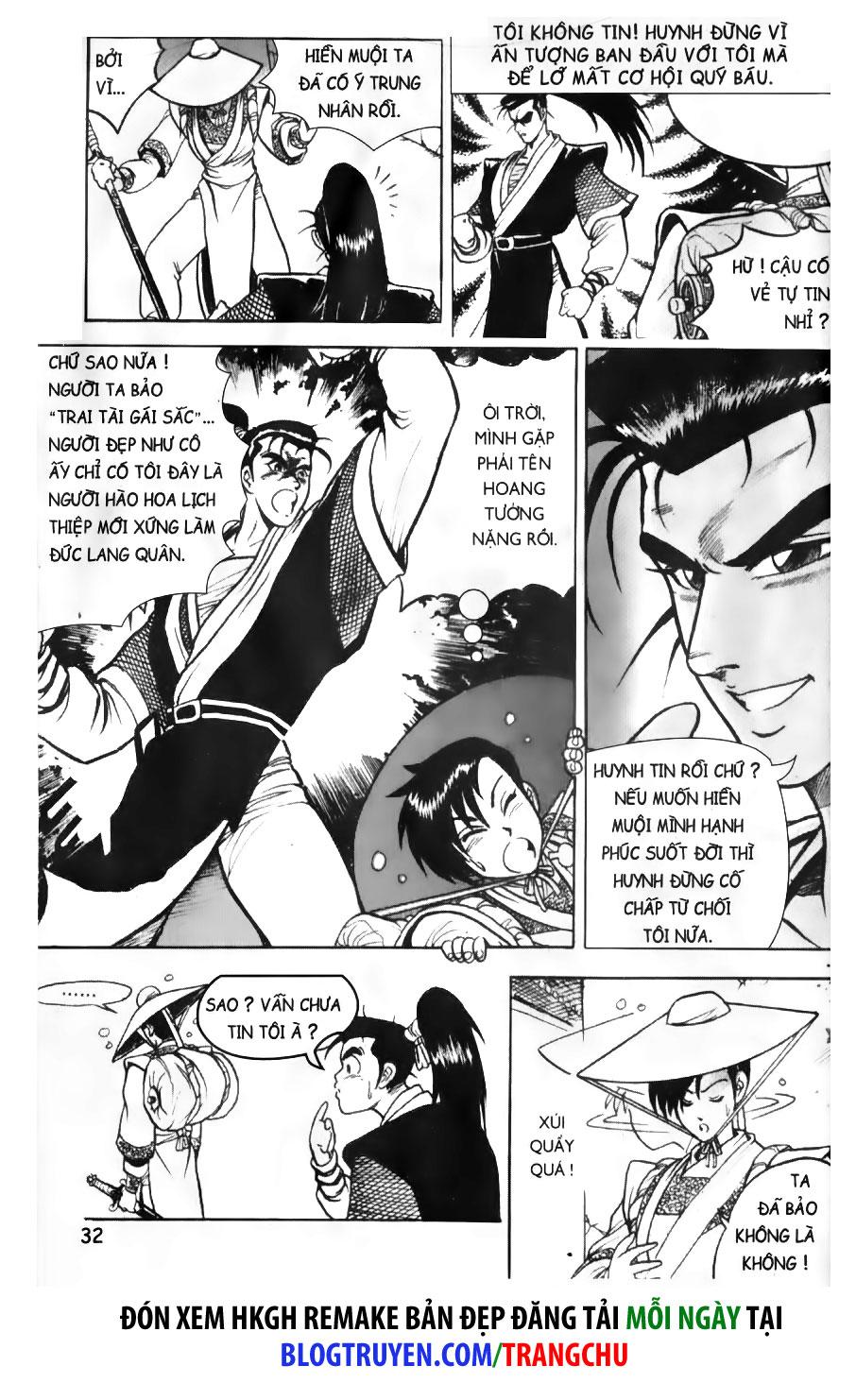 Hiệp Khách Giang Hồ chap 2 page 13 - IZTruyenTranh.com