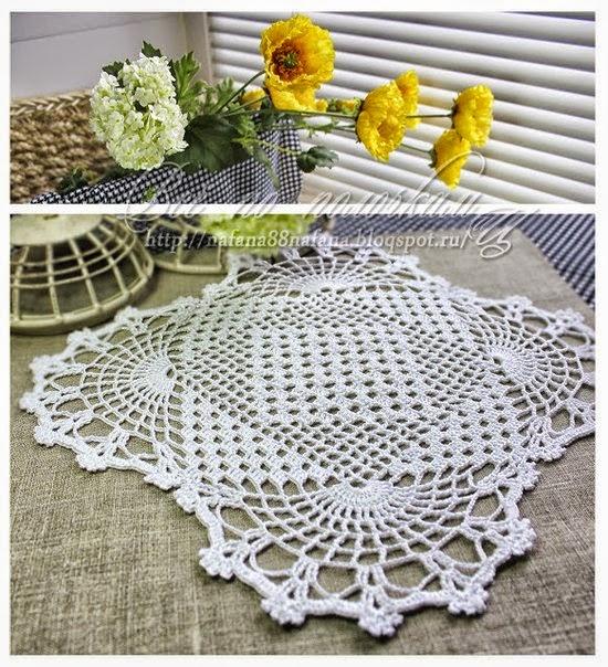 Bella carpeta cuadrada al crochet | Crochet y Dos agujas