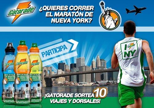 Participa en el maratón de Nueva York con Gatorade