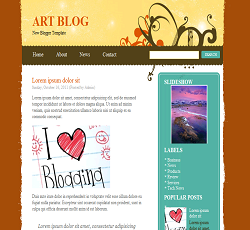 art blog blogger template, blogger templates, blogger templates, new blogger template, new blogger templates, free blogger template