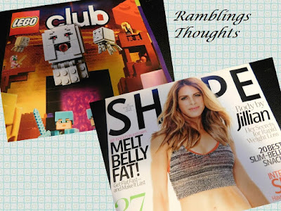 Ramblings Thoughts, Mail, Free, Coupons, Samples, Products, Magazines, Lego Club, Shape