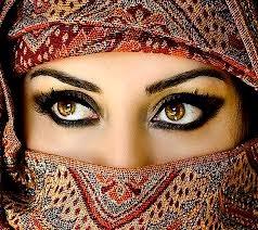 Gambar Mata Indah Wanita Cantik Arab
