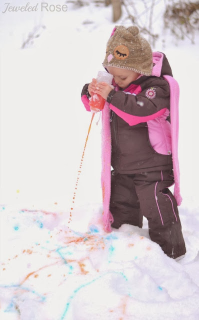 Squirty Snow Paint Recipe