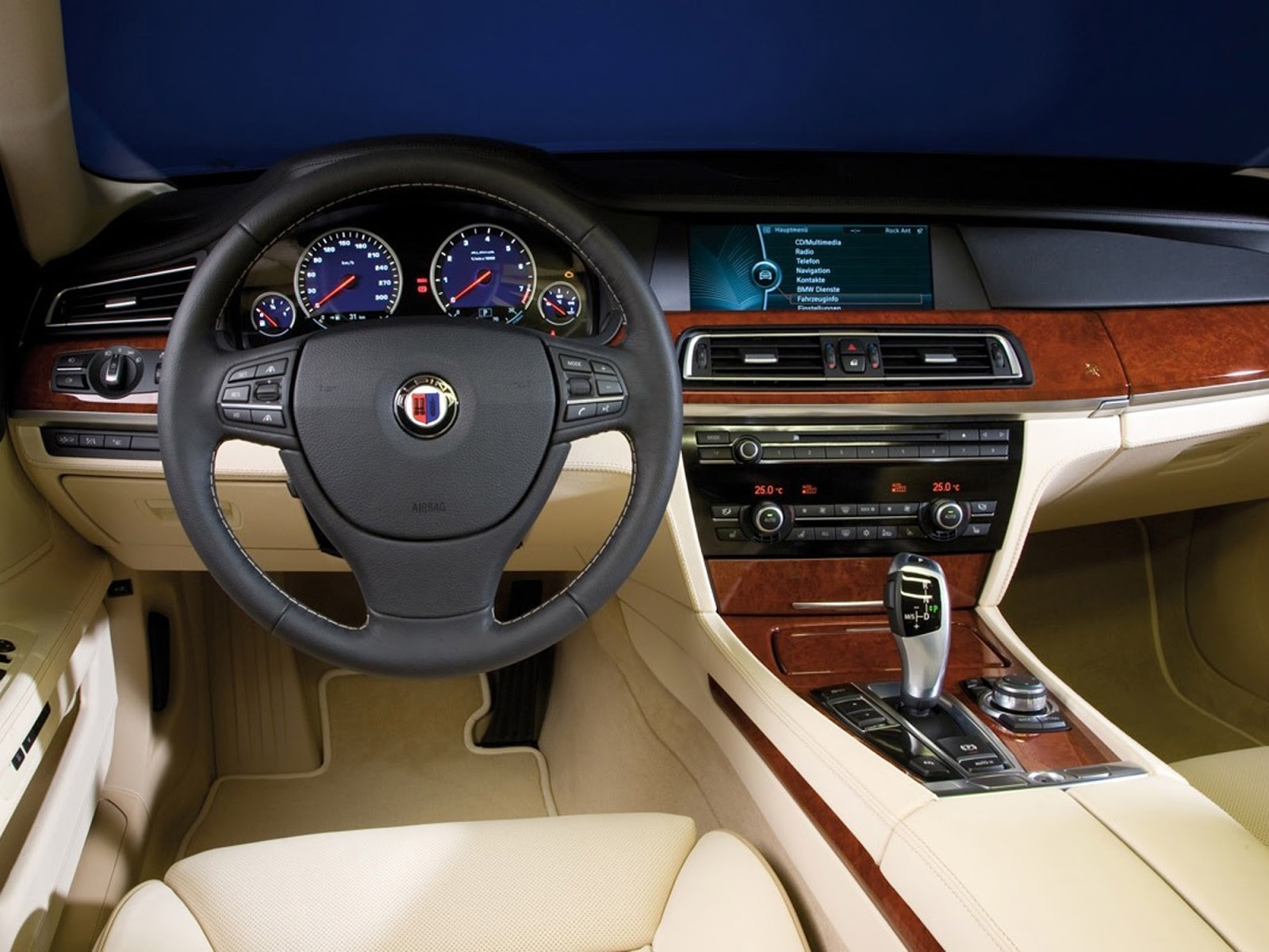 Automotive Database Bmw 7 Series F01