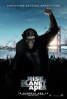 Cartel cine El Origen del Planeta de los Monos por Rupert Wyatt