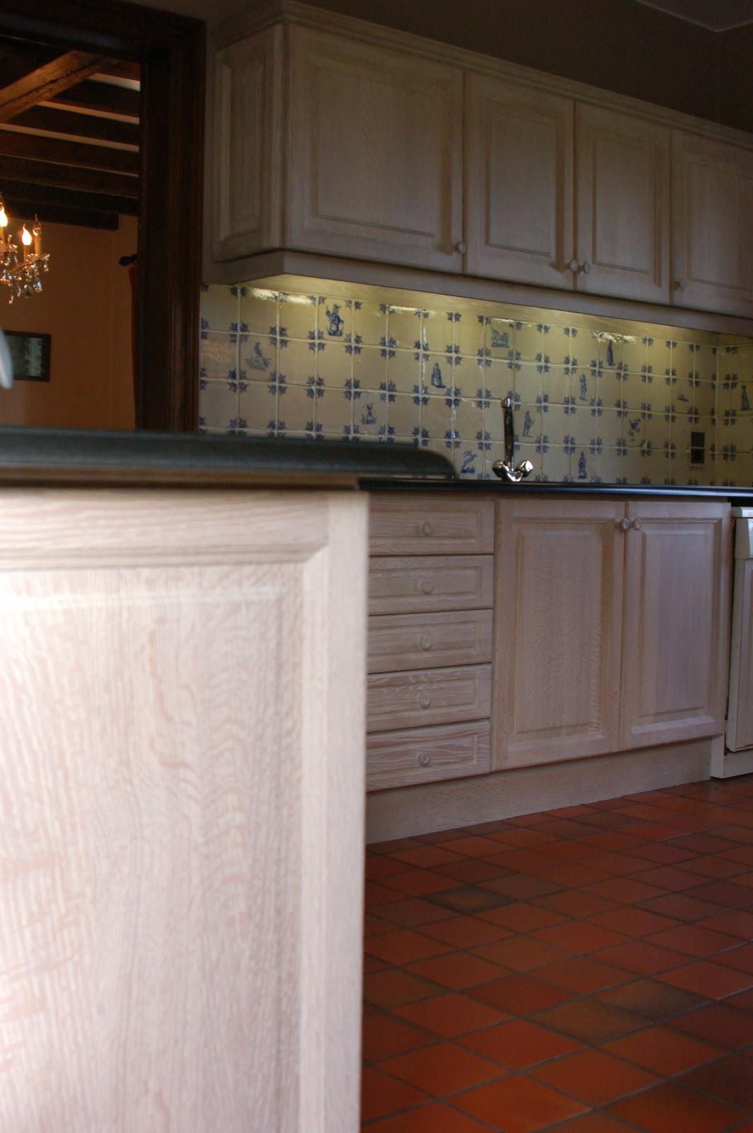 Eiken Keukens Vernieuwen : Renovatie eiken keuken Brakel Renovatie van eiken keukens