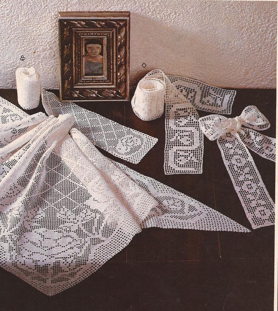 "Cintas ""Finuras"" a Crochet"