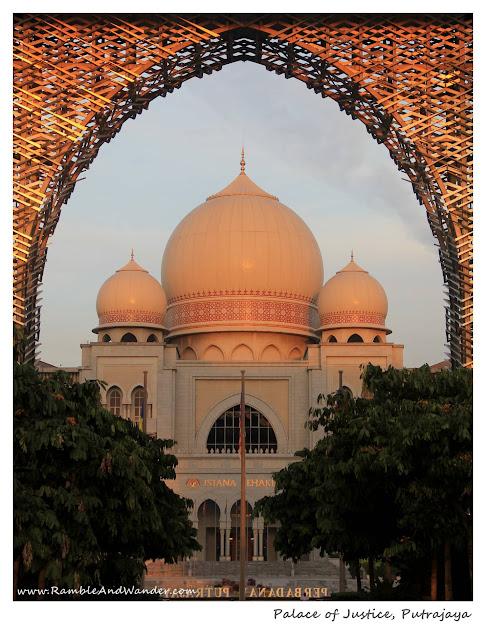 Palace of Justice, Istana Kehakiman, Putrajaya, Malaysia