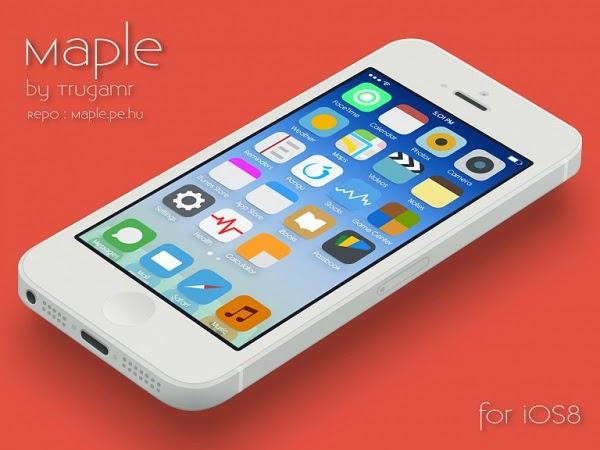 Best iOS 8 Winterboard Theme