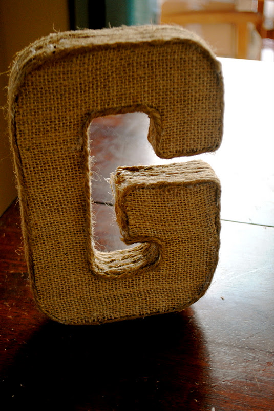 the johnston 39 s diy burlap letter