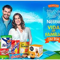 Participar da promoção Nestlé 2015 Vida em Família