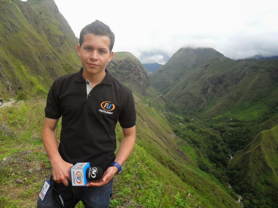 Cubriendo la II Correría Ciclomontañistica Ruta Andina Macizo Colombiano.
